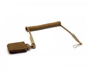 Шнур страховочный спиральный для пистолета Tan