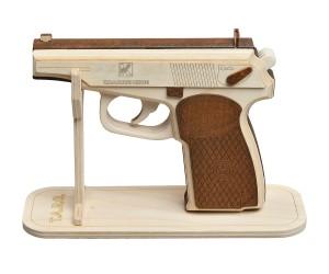 Деревянный конструктор ПМ (пистолет Макарова)