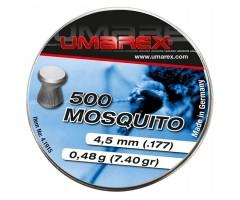 Пули Umarex Mosquito 4,5 мм, 0,46 грамм, 500 штук