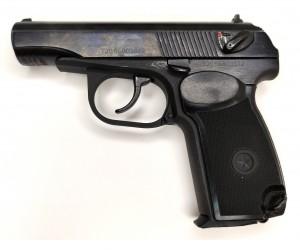|Уценка| Пневматический пистолет Baikal МР-658К (ПМ, Blowback) (№ 84349-157-уц)