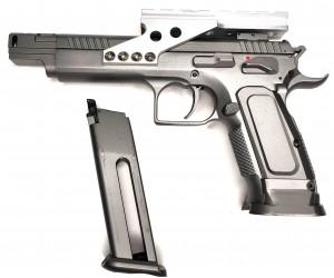 |Уценка| Пневматический пистолет Swiss Arms Tanfoglio Gold Custom (№ 358004-187-уц)
