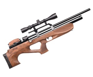 Пневматическая винтовка Kuzey K30 / K300 BullPup (орех, PCP, 3 Дж) 6,35 мм