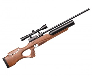 Пневматическая винтовка Kuzey K90 / K900 (орех, PCP, 3 Дж) 6,35 мм