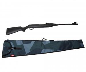 Чехол Калашников с ремнем 120x32 см, серо-синий