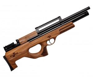 Пневматическая винтовка Ataman M2R BullPup 416/RB SL Тип 1 (орех, PCP, 3 Дж) 6,35 мм