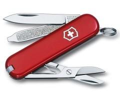 Нож-брелок Victorinox Classic 0.6203 (58 мм, красный)