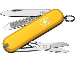 Нож -брелок Victorinox Classic SD 0.6223.8 (58 мм, желтый)
