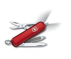 Нож-брелок Victorinox Signature Lite 0.6226 (58 мм, красный)