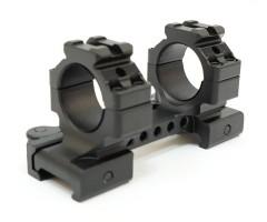 Кронштейн Leapers быстросъемный 25,4 мм на Weaver, 95 мм, регулир. рычаги (M1B35070R2)