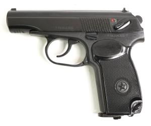 Пневматический пистолет Baikal МР-654К-32 (ПМ, черная рукоять)
