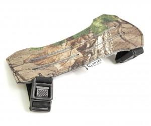 Крага охотничья 19 см камуфляж (замша)