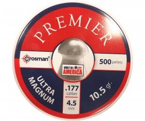 Пули Crosman Premier Domed 4,5 мм, 0,68 грамм, 500 штук