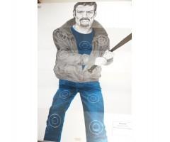 Мишень «Хулиган с битой» (1x1,5 м)