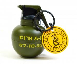 Зажигалка-граната Zhong Long 807N