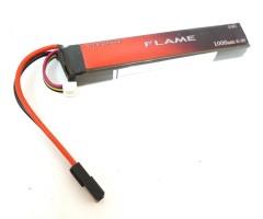 Аккумулятор Flame LiFe 9.9V 1000mah 15C, 125x21x18 мм (стик)