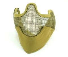 Маска защитная с ушами KV19-009 Tan