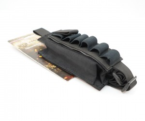 Подсумок Wartech MP-115 для 12 калибра, липучка (черный)