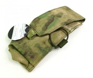 Подсумок Wartech MP-105 под 2 магазина АК-серии (мох)