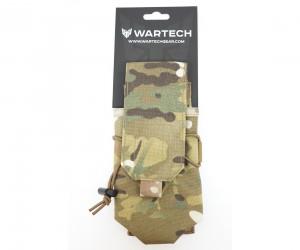 Подсумок Wartech MP-105 под 2 магазина АК-серии (multicam)