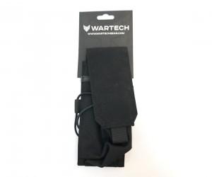 Подсумок Wartech MP-105 под 2 магазина АК-серии (черный)