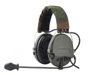 Гарнитура Z-Tactical Z111 (наушники активные с микрофоном) Zsordin