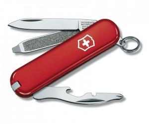 Нож-брелок Victorinox Rally 0.6163 (58 мм, красный)
