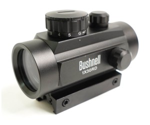 Коллиматорный прицел Bushnell 1x30 RD на Weaver