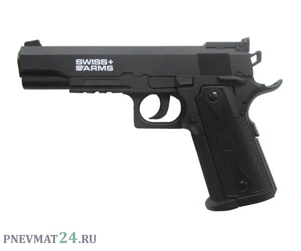 Пневматический пистолет Swiss Arms P1911 Match (Colt)