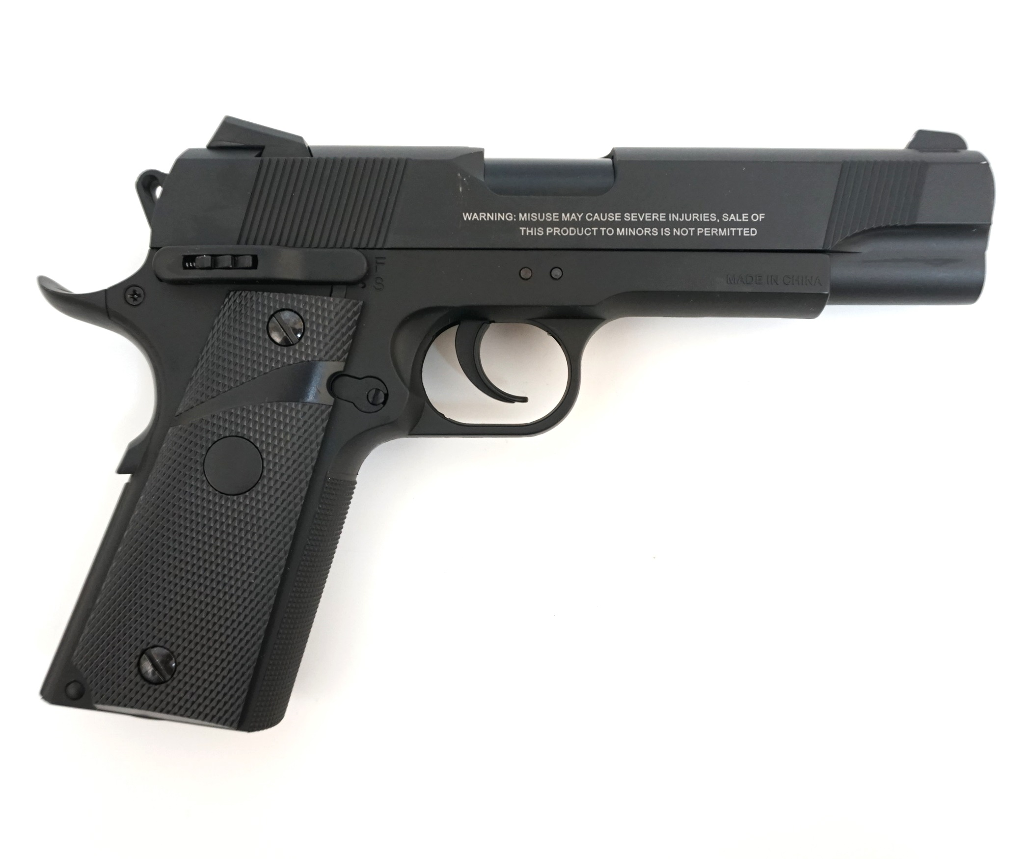 как приобрести пневматический пистолет
