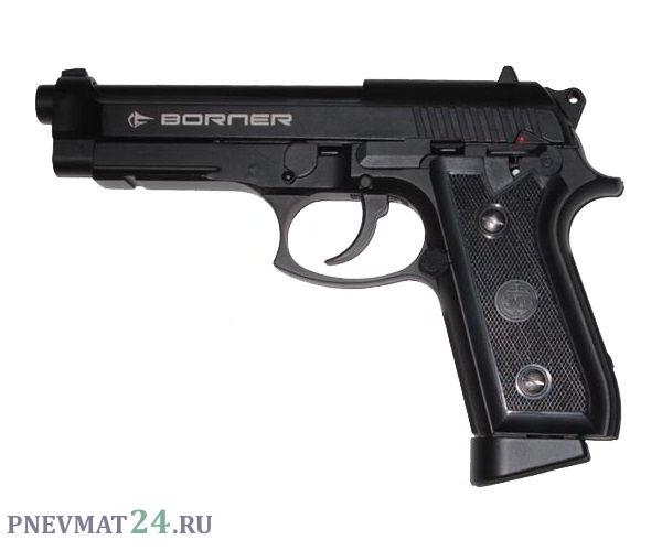Пневматический пистолет Borner KMB15 (Beretta)