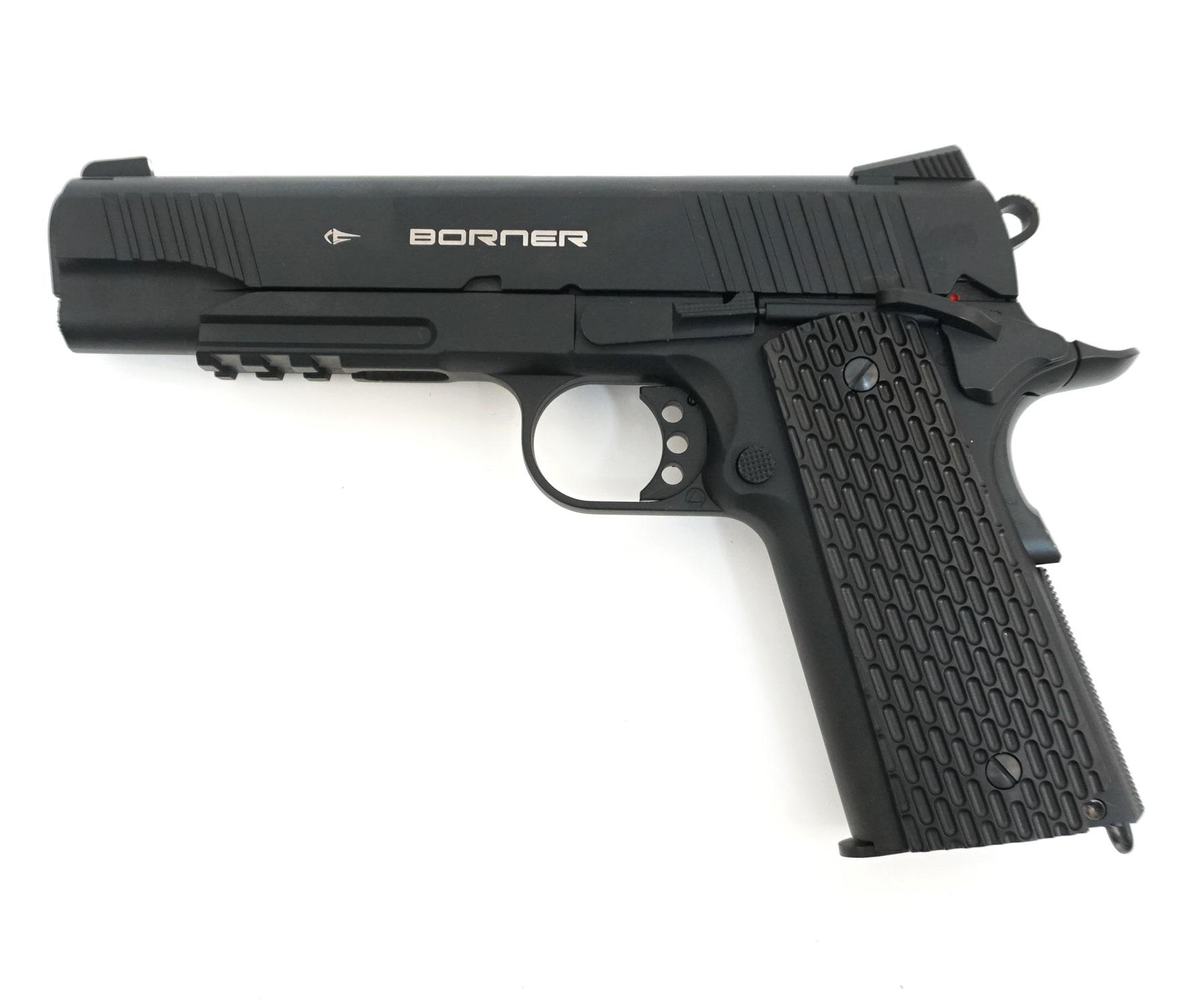 Пневматический пистолет Borner KMB77 (Colt)