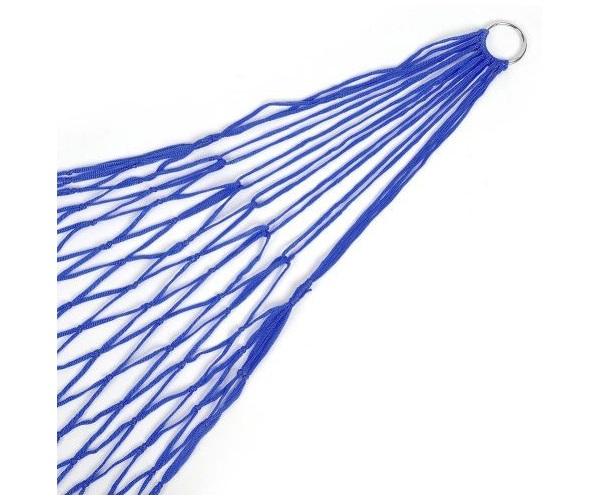 Гамак-сетка нейлоновый AVI-Outdoor синий, 200x80 см