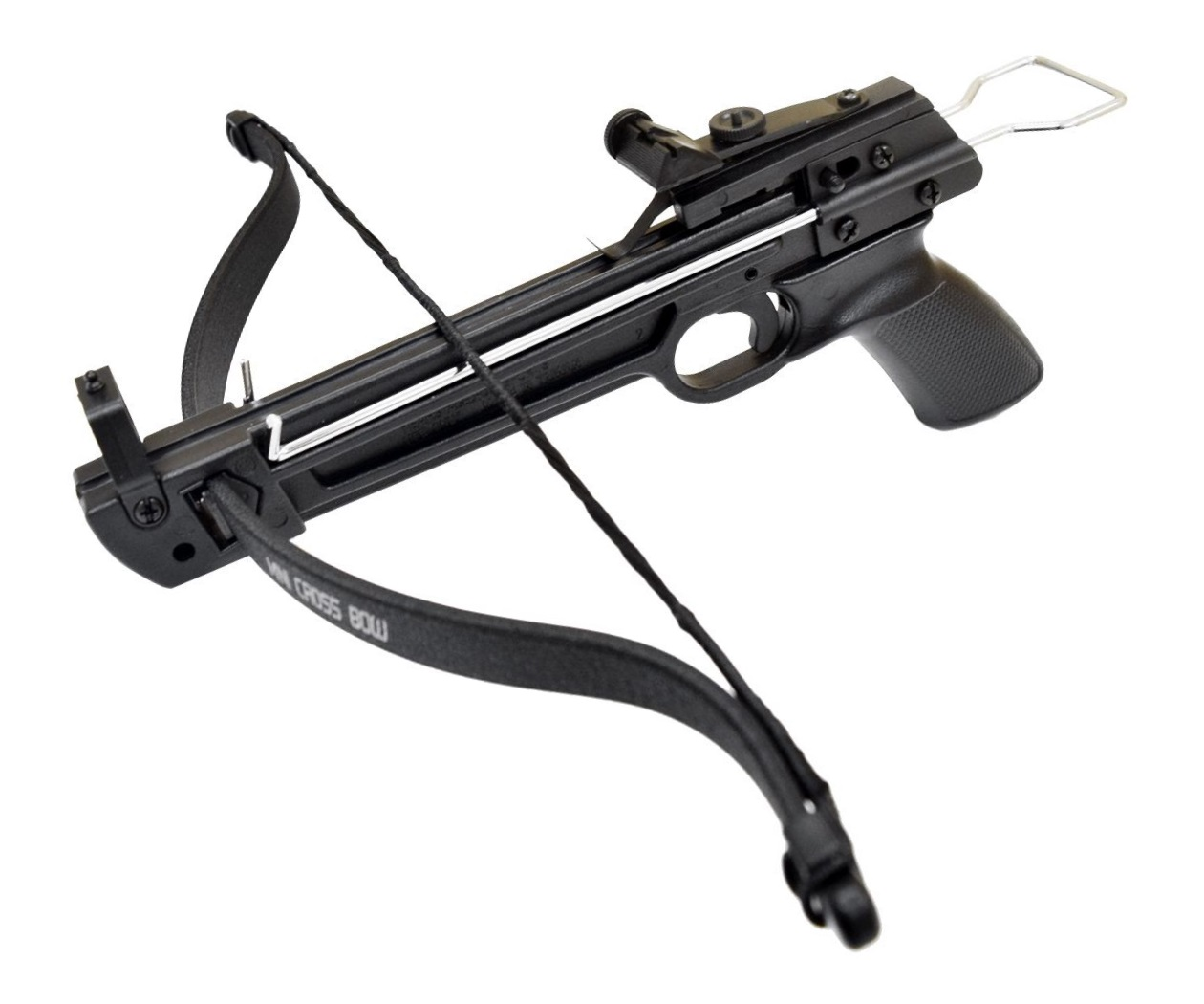 Арбалет-пистолет Man Kung MK-80A1 Wasp (пластик, стремя)