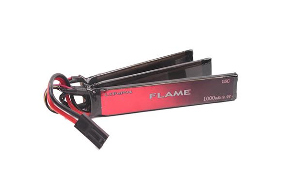 Аккумулятор Flame LiFe 1000H15C 9.9V трехлепестковый