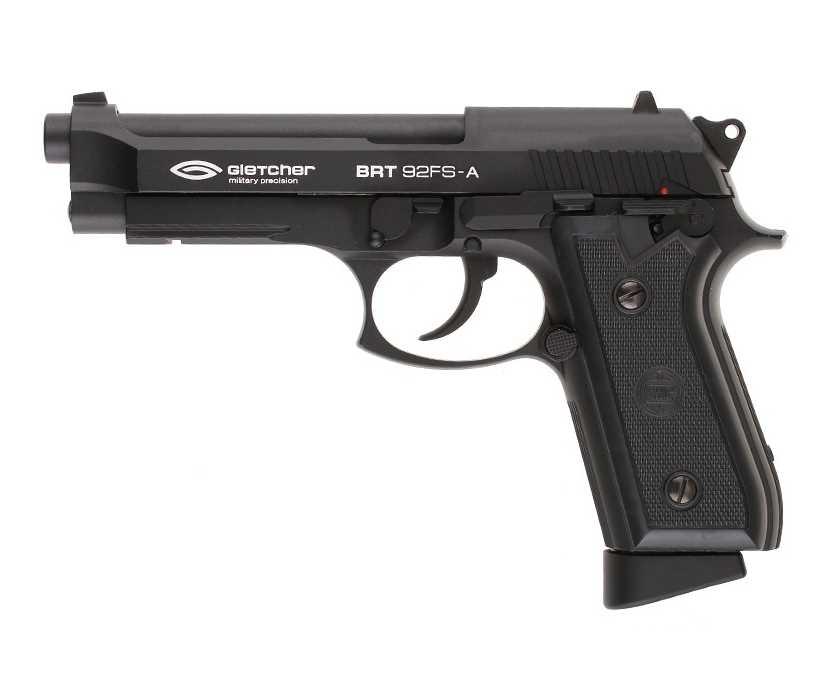 Страйкбольный пистолет Gletcher BRT 92FS-A (Beretta)
