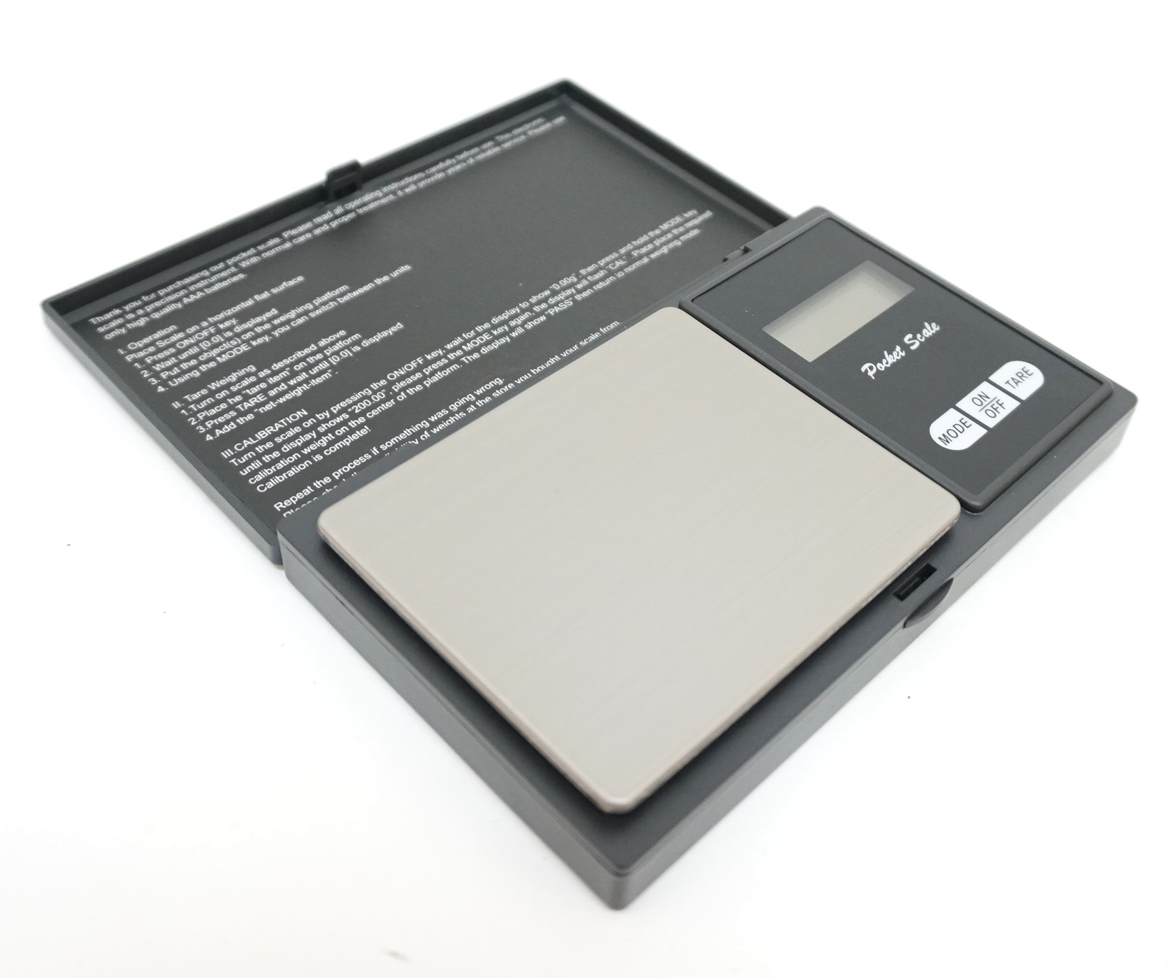 Весы портативные электронные до 500 ± 0,01 г (BH-WP501)