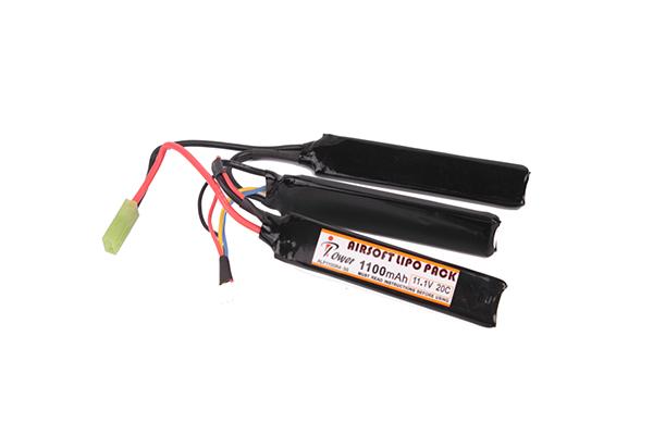 Аккумулятор iPower Li-po 1100H20C mAh 11.1V трехлепестковый