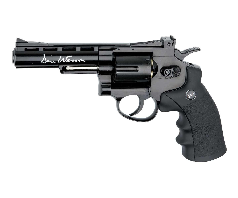 Пневматический револьвер ASG Dan Wesson 4