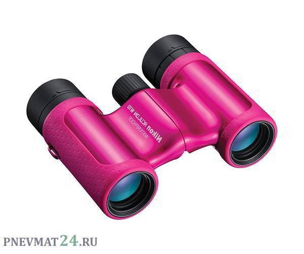Бинокль Nikon Aculon W10 8x21 (розовый)