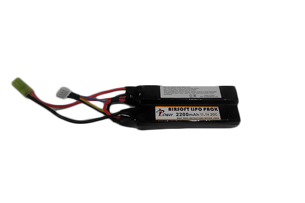 Аккумулятор iPower Li-po 2200H20C mAh 11.1V двухлепестковый