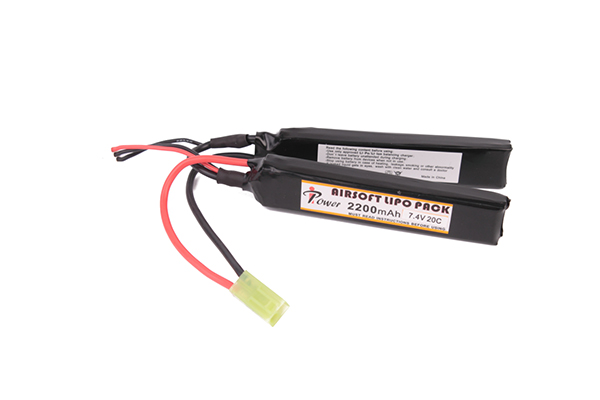 Аккумулятор iPower Li-po 2200H20C mAh 7.4V двухлепестковый