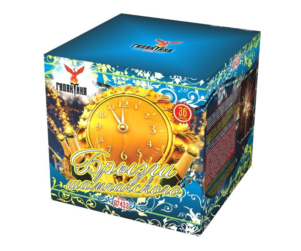 Батареи салютов «Брызги шампанского» (1,25