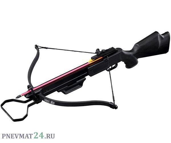 Арбалет рекурсивный Man Kung MK-160 R (пластик, черный)