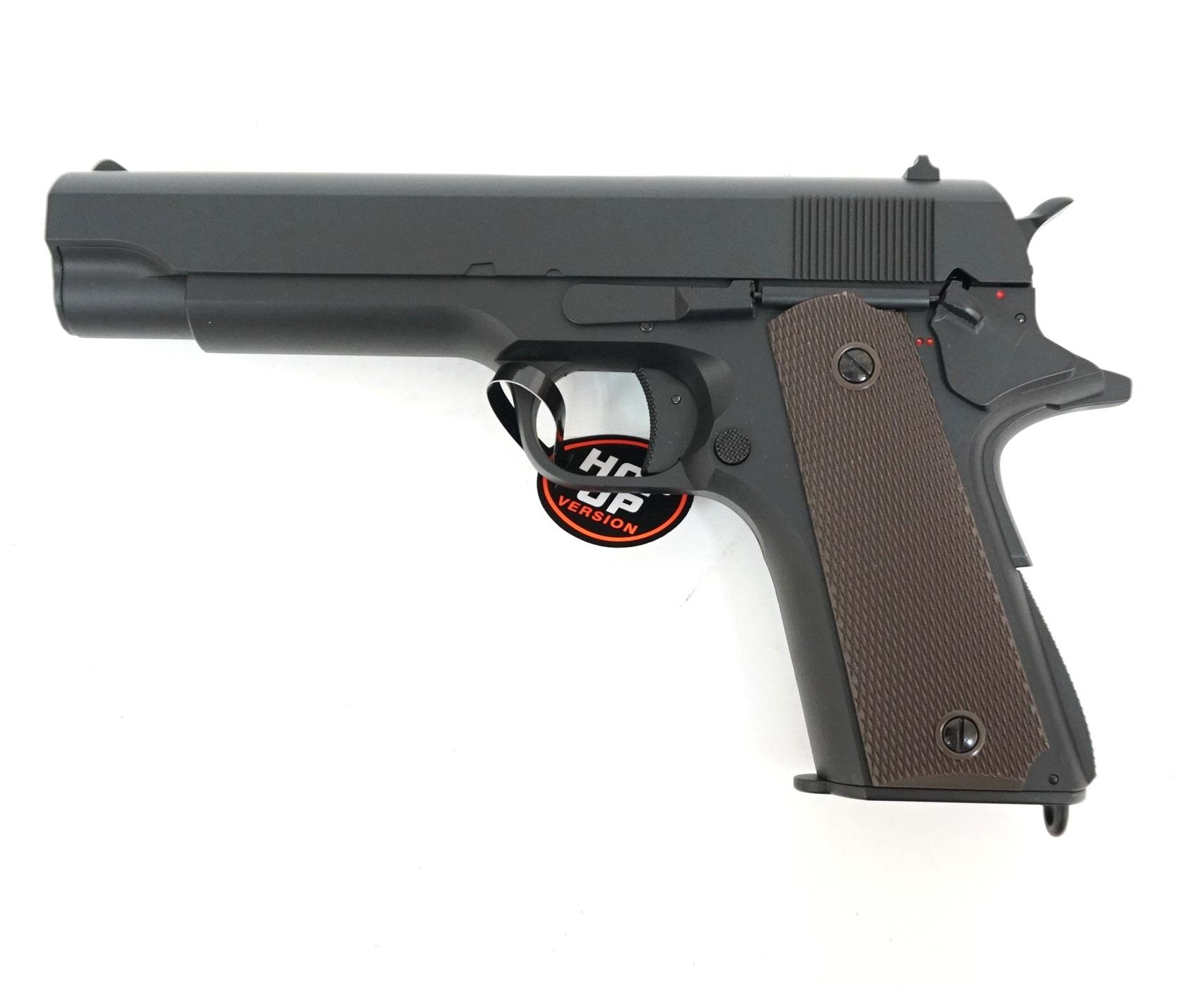 Страйкбольный пистолет Cyma Colt 1911 AEP (CM.123) купить! Цена в Москве, СПБ