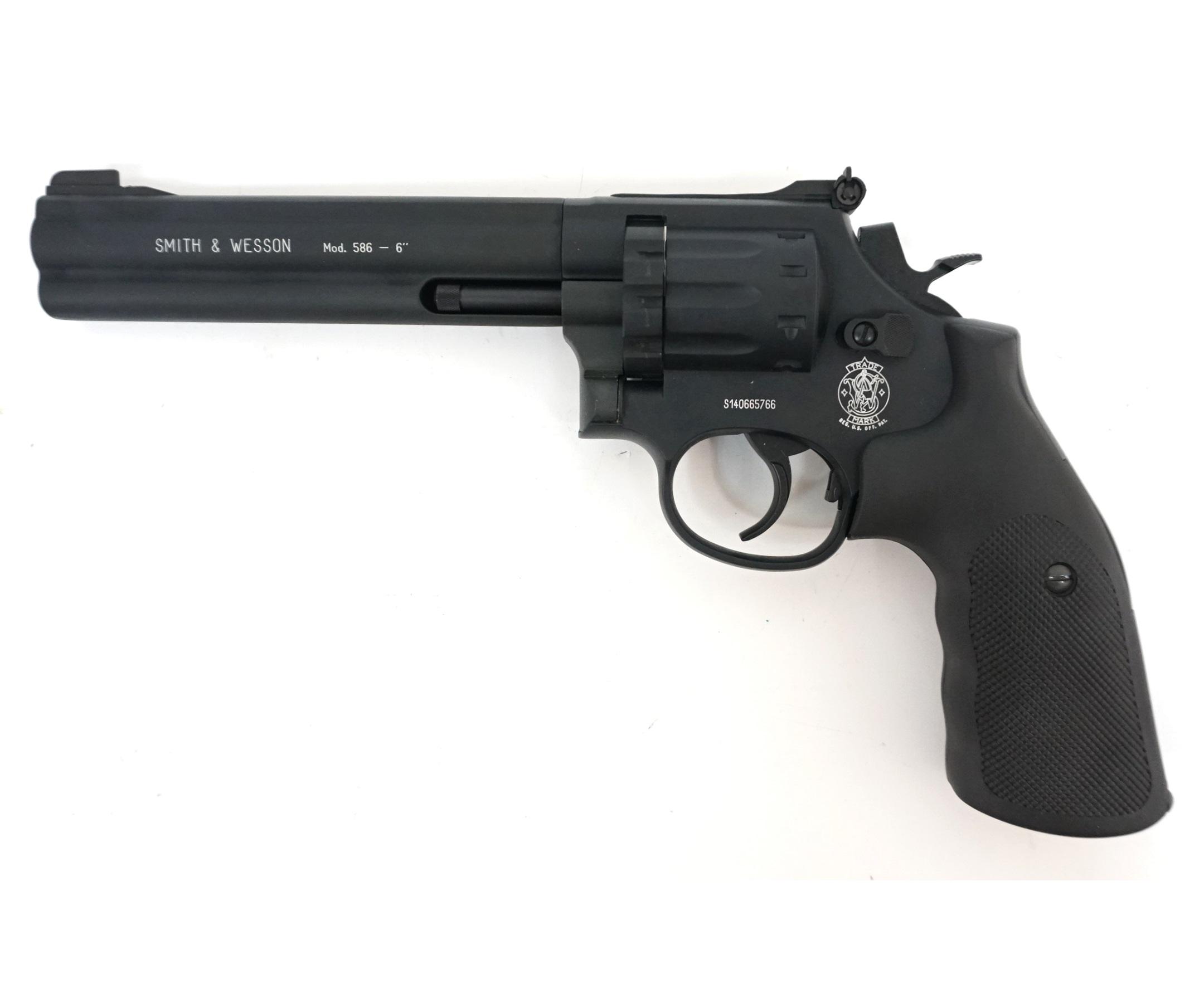 """Пневматический револьвер Umarex Smith & Wesson 586 6"""""""