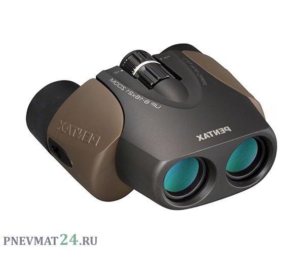 Бинокль Pentax UP 8-16x21 UCF Zoom II Brown