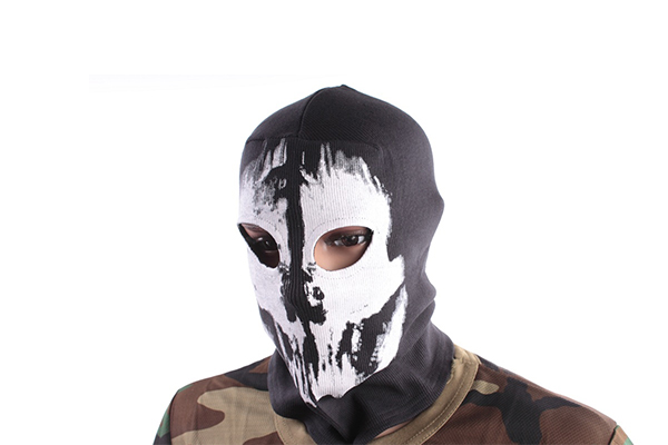 Балаклава ghost Black