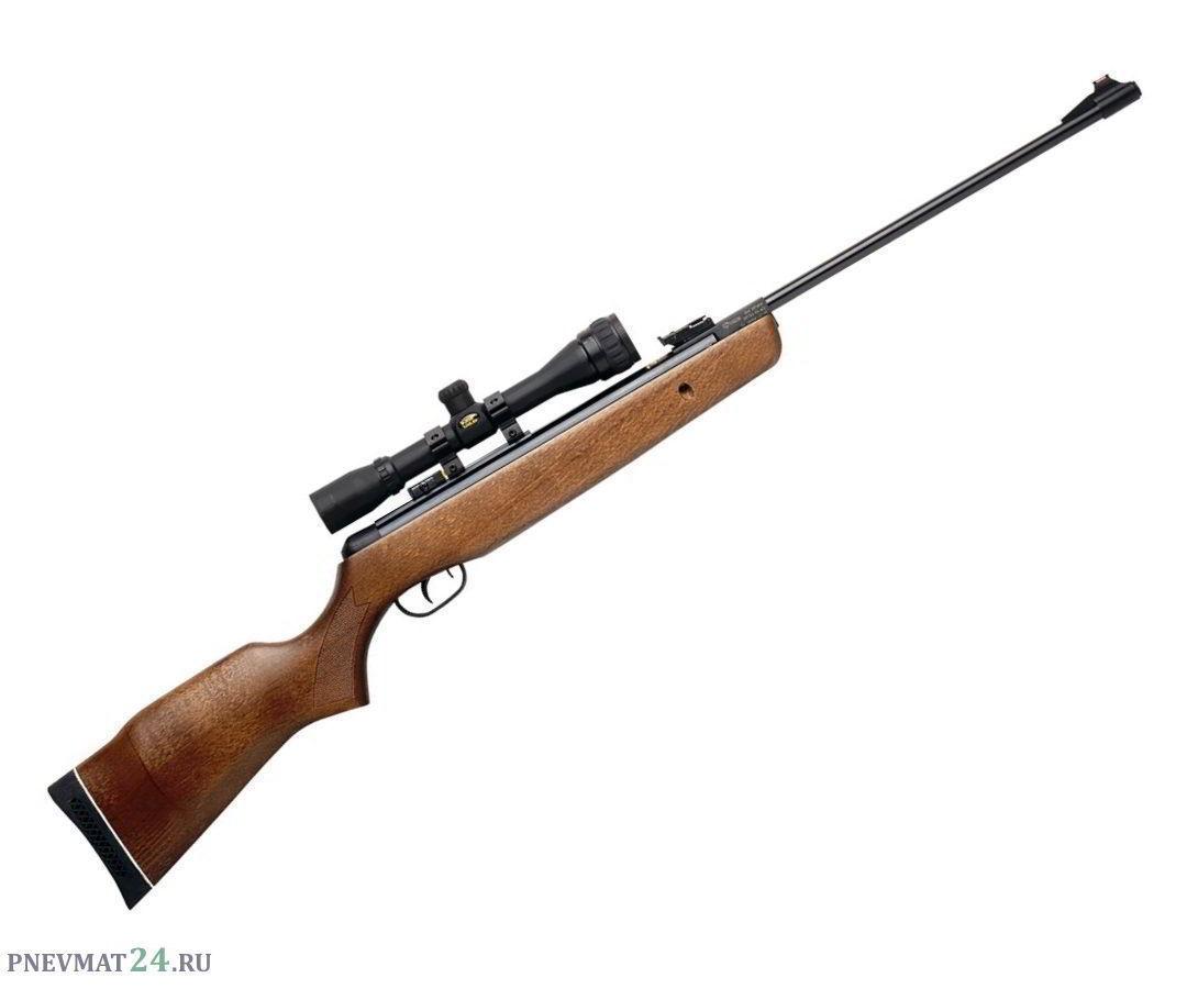 Пневматическая винтовка Gamo Hunter 440 Combo (дерево, прицел 4x32)