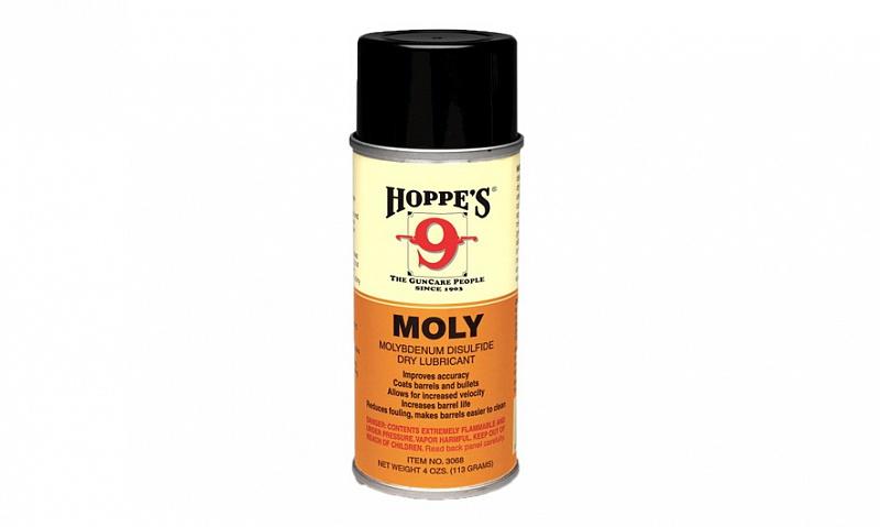 Быстро высыхающая смазка с молибденом Hoppe's MOLY, аэрозоль, 120 мл