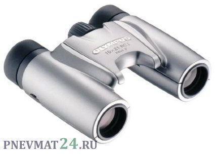 Бинокль Olympus 10x21 RCII silver